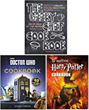 The Geeky Chef Cookbook, Doctor Who The Official Cookbook [Hardcover], The Unofficial Harry Potter Cookbook 3 Books Collection Set