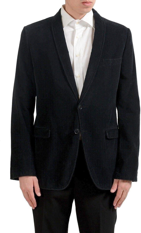 Dolce Gabbana Men's Indianapolis Mall Corduroy Black Sport Look Free shipping New C Blazer Vintage