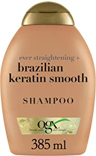 OGX Ever-Straightening + Brazilian Keratin Therapy Shampoo, 13 Ounce
