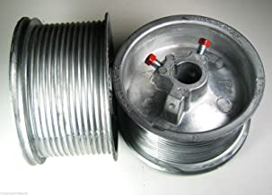 Garage Door Cable Drum for up to 18' High Doors - Standard Lift D525-216 (Pair), Works with up to 3/16