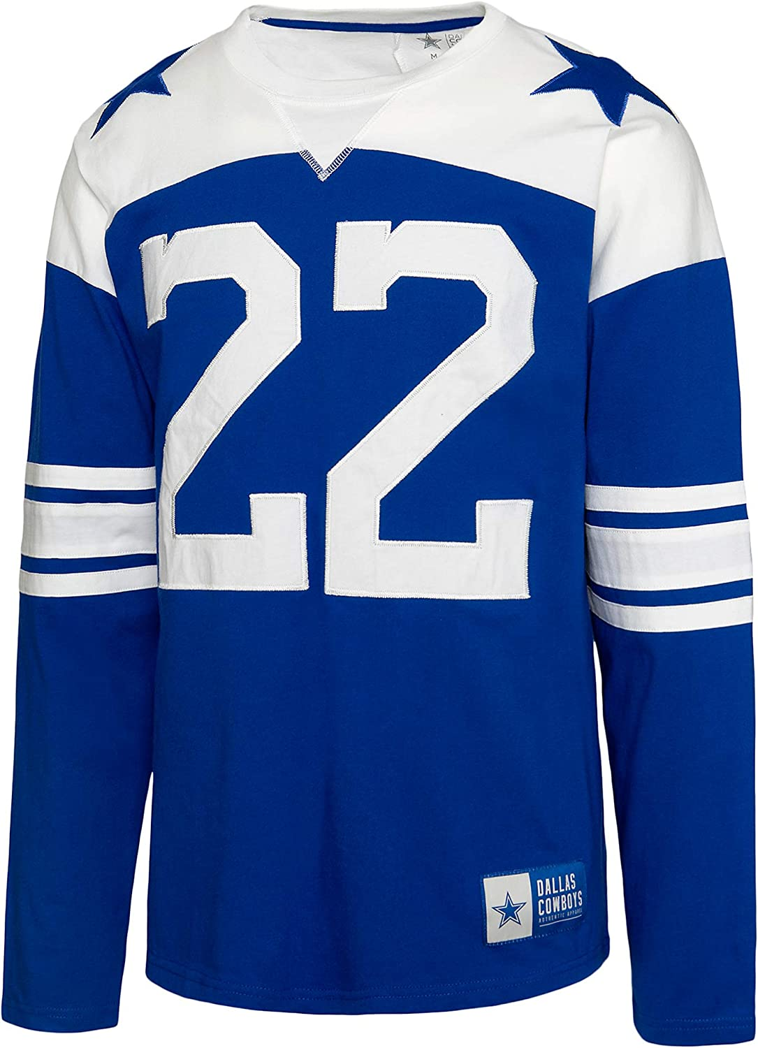 Dallas Cowboys NFL Mens Long outlet Rivalry Product Jersey Sleeve