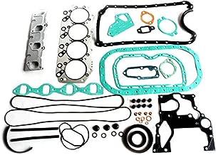 Complete 4JG2 Engine Gasket Kit - SINOCMP Excavator Parts for Isuzu 4JG2 TROOPER TCM KOMATSU TAILIFT KLIFT, 3 Month Warranty