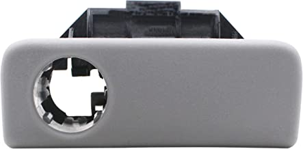 Replace for Toyota 55506-AE010-B0 Glove Compartment Box Lock Latch Handle Sub-Assembly Glove Box Lock Compartment Door Latch Assembly Fit for 2004-2010 Toyota Sienna Vehicles Stone Grey Color