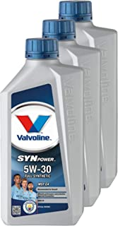 VALVOLINE 3X Motoröl Motorenöl Motor Motor Aceite Gasolina Diesel Synpower 5W-30 MST C4 1L