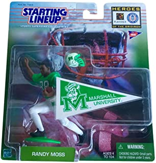 1999 NCAA Football Heroes of the Gridiron Starting Lineup - Randy Moss _ Marshall
