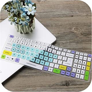 2020 for Dell Inspiron Aio Kb216 Kb216P Kb216T Km636 All in One Pc Desktop Pc Waterproof Dustproof Protector Skin Keyboard Cover-Cartoon