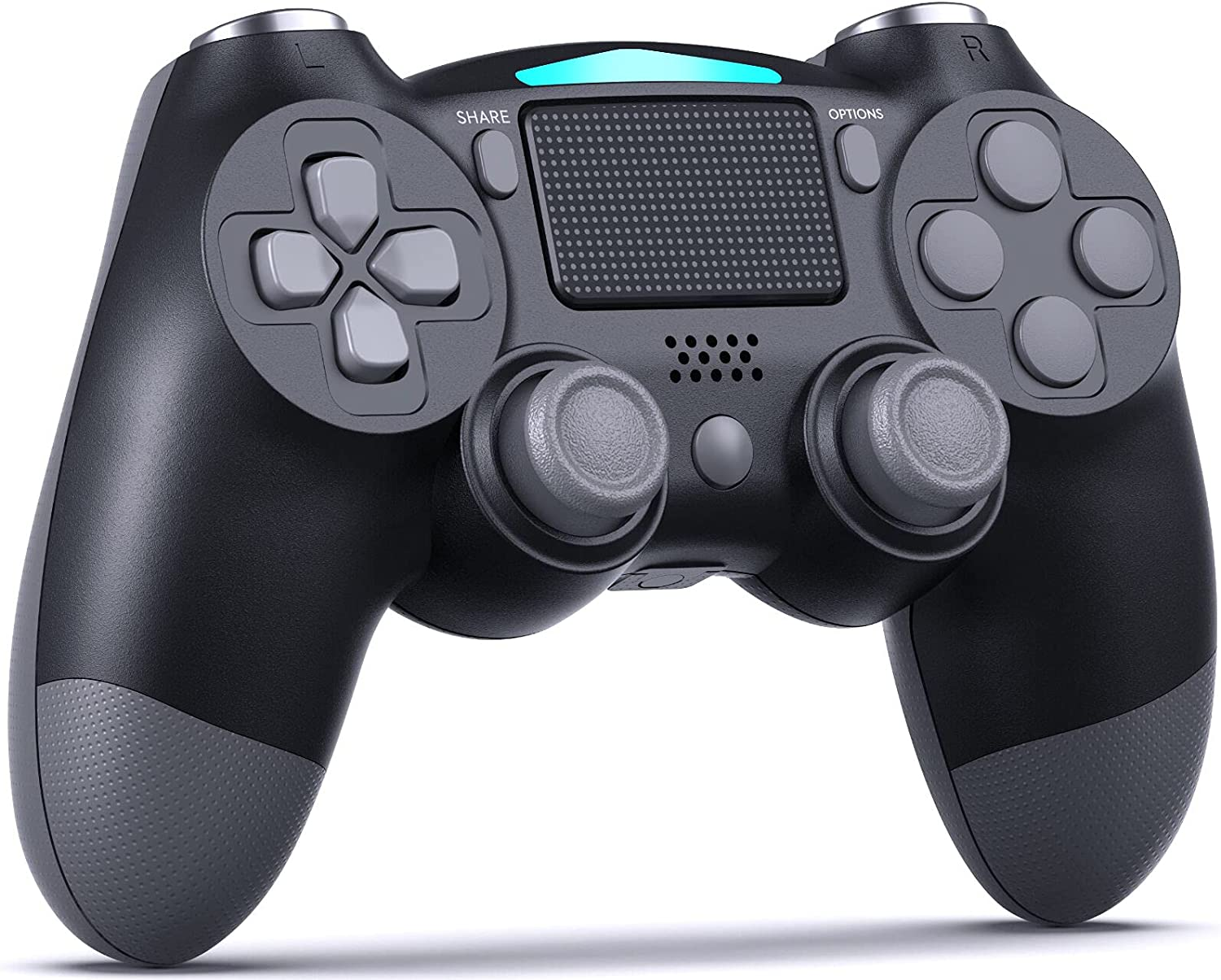 EZdenK Sale Special Price Wireless Controller for PS4 Back But with Super popular specialty store Dual Vibration