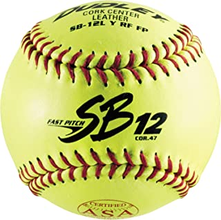 Dudley ASA SB 12L Fast Pitch Softball - Dozen