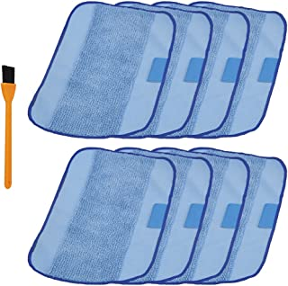 Hongfa for iRobot Braava 380t Mopping Pads,8 Packs Wet Microfiber Mopping Cloths for iRobot Braava 320 321 380 Mint 4200 4205 5200 5200C Replacement Parts