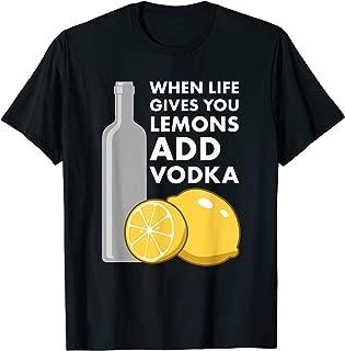 Funny Vodka TShirt Gift for Vodka Drinkers