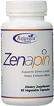 Zenapin - Top Calming Supplement with 6 Stress Fighting Ingredients - GABA, Magnesium, St. John's Wort, Chamomile, 5-HTP, Ashwagandha, B-Vitamins and More