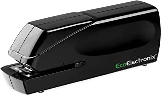 EX-25 Automatic Heavy Duty Electric Stapler - Includes Staples, Power Cable and by EcoElectronix - Jam-Free 25 Sheet Full-Strip Staple Capacity, for Professional and Home Office Use (Renewed)