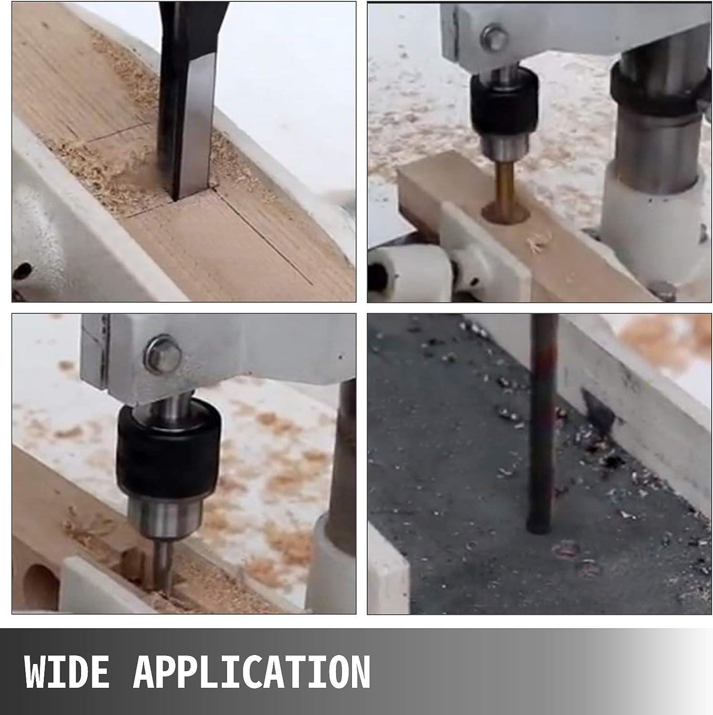 VEVOR Mortaiseuse 220v Mortaiseuse /à b/édane 220v Mortaiseuse Electrique pour couper des mortaises en bois telles que des cercles//des carr/és et des carr/és sp/éciaux