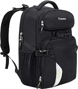 Endurax Professional Camera Laptop Backpack Bag for Pro-Sized DSLR SLR...