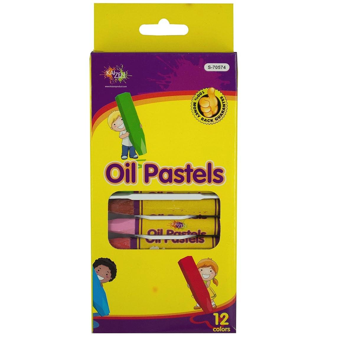 Kole Imports Kole Oil Pastels Set, Multi