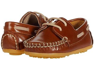 Elephantito Regatta Boat Shoe (Toddler) (Natural) Boy