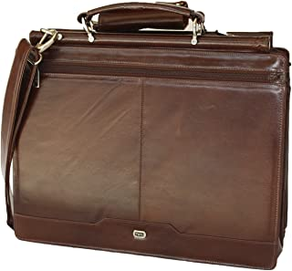 land leather briefcase