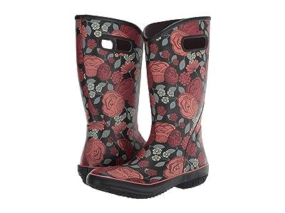 Bogs Rain Boot Le Jardin (Red Multi) Women