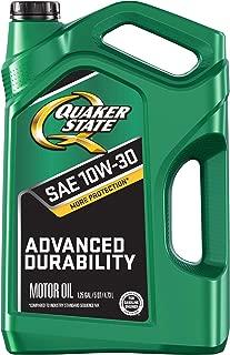 Quaker State 550044962 10W-30 Motor Oil (SN/GF-5, 5qt. Jug), 160. Fluid_Ounces