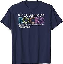 Kindergarten Rocks With Guitar Novelty T-Shirt Kids