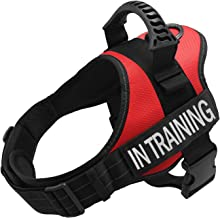 TOPPLE in Training Vest Harness-Reflective Vest wih Comfortable Handle for Small Medium Large Dogs,Purchase Come with 2 Reflective in Training Patches