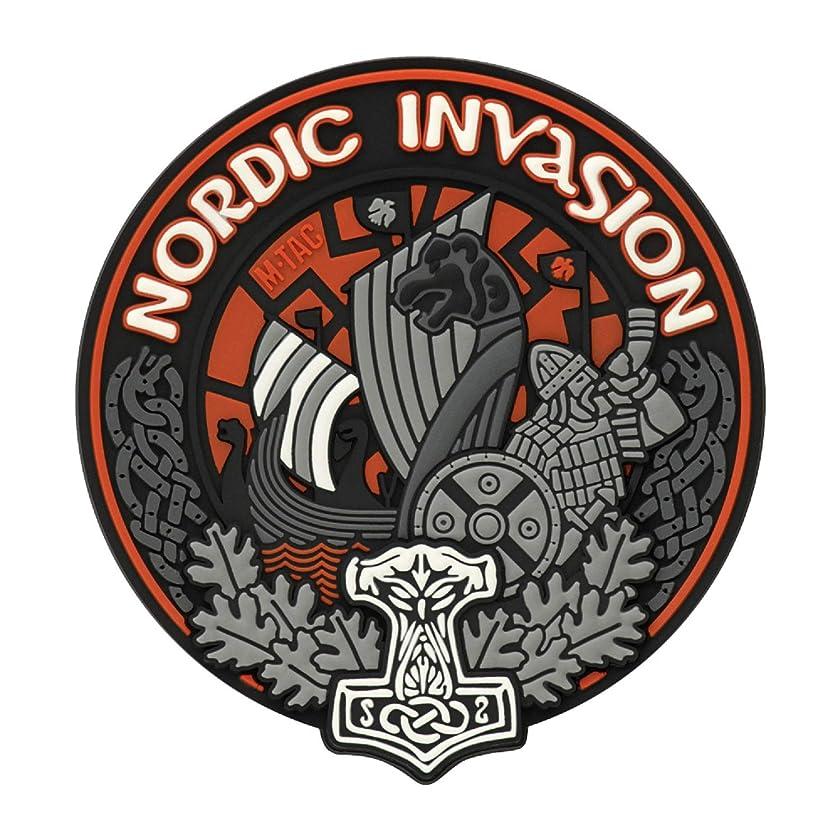 M-Tac Nordic Invasion Tactical Morale Patch 3D PVC Viking Patches
