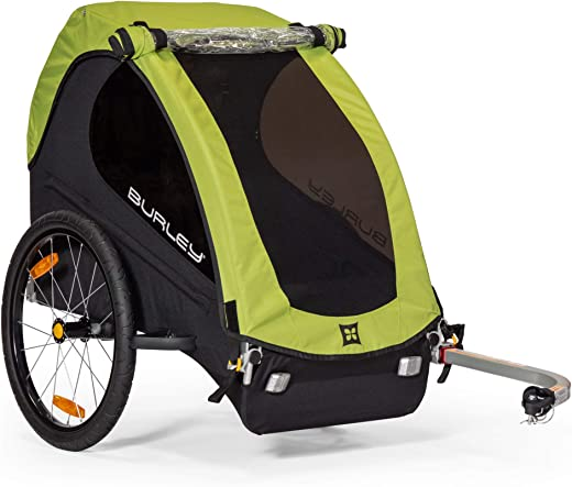 Burley Minnow, 1 Seat, Lightweight, Kids Bike-Only Trailer