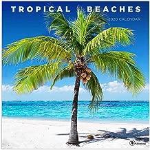 2020 Tropical Beaches Wall Calendar