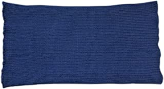 Tummy Band 100% Merino Wool Belly Kidney Waist Warmer Pregnant Women Knit Knitted (S, Dark Blue)