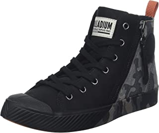 Palladium Unisex Adults' Pallaphoenix Z Camo Classic Boots, Black (Black/Blk/Dk Gl Gra/Cld B Rouge Q51)