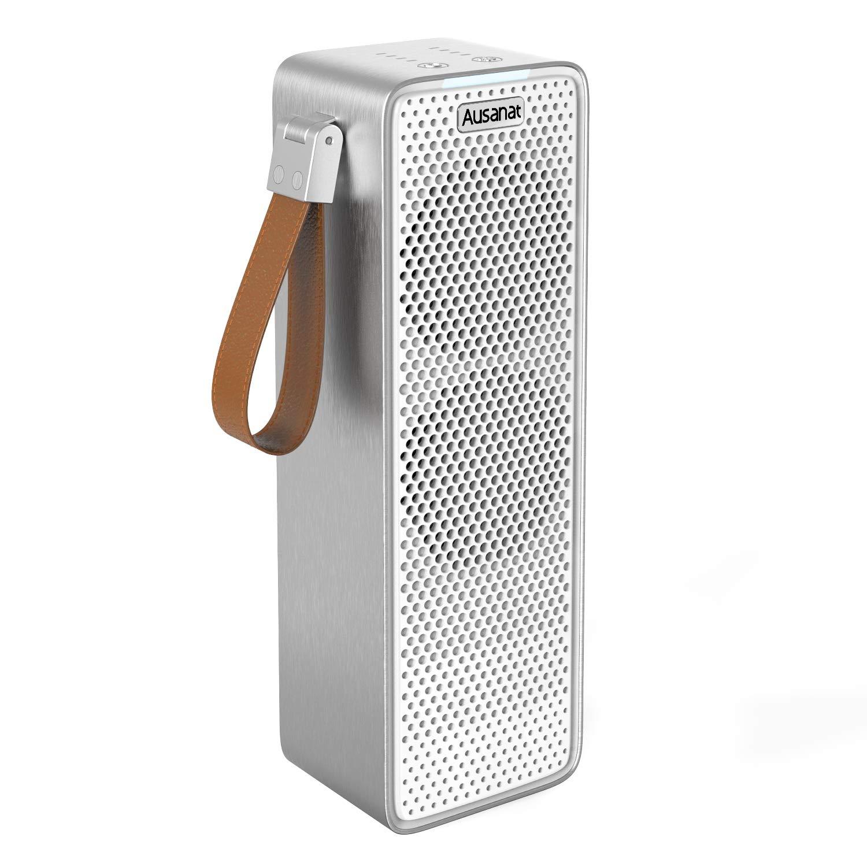 Purificador de Aire para Hogar con Filtro HEPA, Purificadores de aire de Doble Ventilador Para Viajes en Coche, USB Desktop Filtro de aire Captura Alergias, Polvo, Humo, Caspa de Mascotas: Amazon.es: Bricolaje