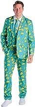 Men's Summer Suit Havana Banana Pattern Blazer+Tie and Pants - (Blazer+Tie and Pants Sold Separately)