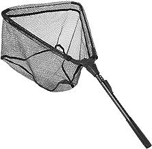Schepnet Telescopisch Vissen Opvouwbaar Schepnet Aluminium Schepnet Pole Rubberen Handvat(40 * 40)