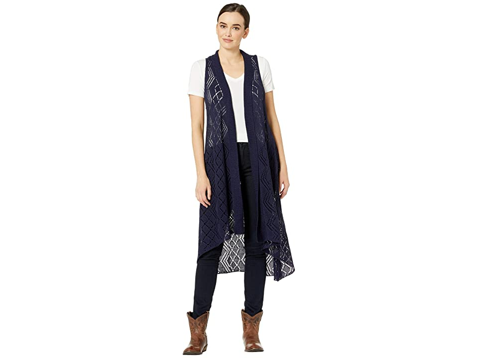 Ariat Maxi Sweater Vest (Navy) Women