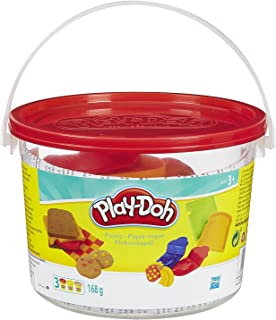 PLAY-DOH_ Modeling Compound Red Picnic Bucket Playset, Age 3+