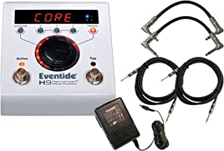 Eventide H9 Core Multi Effects Pitch and Delay Pedal w/ 4 Cables and Power Supply