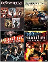 The Ultimate Resident Evil DVD Collection: Complete Movie Series 1-6 + Animated Movies Damnation + Degeneration
