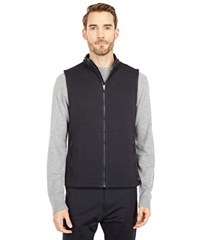 Rhone Bond Fleece Vest (Black) Men