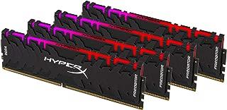 HyperX Predator 对开式 黑色HX432C16PB3AK4/64 RGB 3200MHz 64GB Kit (4 x 16GB)
