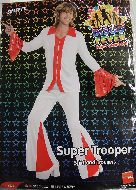 Smiffys 70er Jahre Kostüm Disco Tänzer rot Gr. M - L, Größe L B06Y5JR1KW Angemessene Lieferung und pünktliche Lieferung   | Rabatt