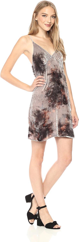 Young Fabulous & Broke Womens Lexington Velvet Dress Dress