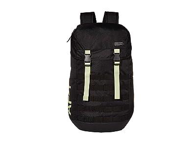 Nike Air Force 1 Backpack (Black/Black/Barely Volt) Backpack Bags