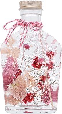イソフラ ハーバリウム ボトル レッド ギフト プレゼント 贈り物 誕生日 記念日 (ピンク)