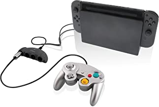 Nyko Retro Controller Hub Plus – 4 Port GameCube Controller Adapter with Turbo and Home Button for Nintendo Switch