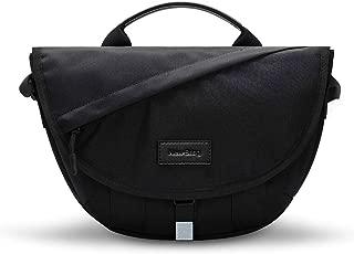 Small Waterproof Messenger Bag for Women Fashion 2019 Lightweight Shoulder Handbag for iPad Casual Travel Bag Handbag Crossbody Bags (black)
