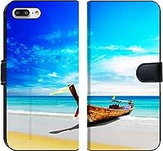 Liili Premium Phone Case Designed for iPhone 8 Plus and iPhone 7 Plus Flip Fabric Wallet Case Thailand Beach sea Travel Landscape Image ID 21618549
