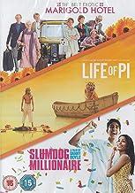 The Best Exotic Marigold Hotel / Life Of Pi / Slumdog Millionaire [DVD]