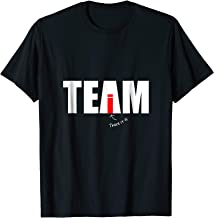 There's no I in Team - Yes there it is