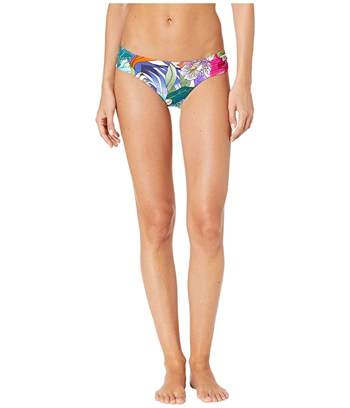 Trina Turk Amazonia Shirred Side Hipster Bottoms (Multi) Women