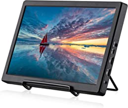 KALESMART Portable Gaming Monitor 11.6 Inch IPS 1920X1080 Double HDMI Monitor Full HD Display for PC PS3 PS4 WiiU Xbox One S Raspberry Pi 3 2 1 Model B B+ Windows 7 8 10 System Home Office(Black)